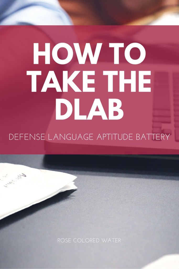 How to Take the DLAB test