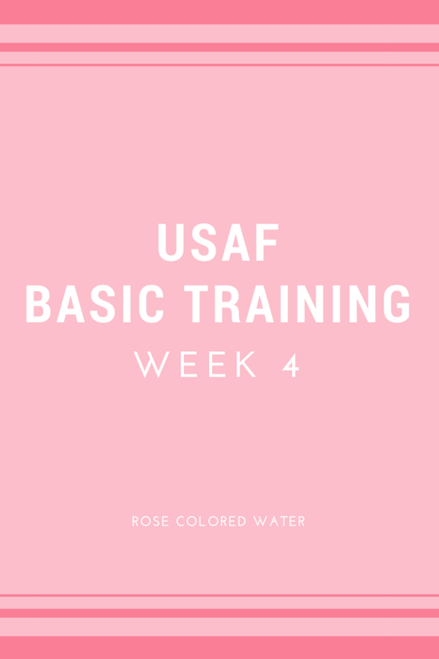 US Air Force Basic Training Week 4