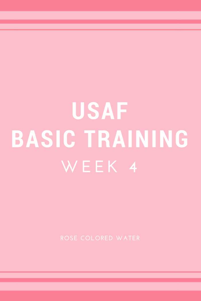 US Air Force Basic Training Week 4