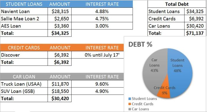 September 2016 Debt Report | Rose Colored Water