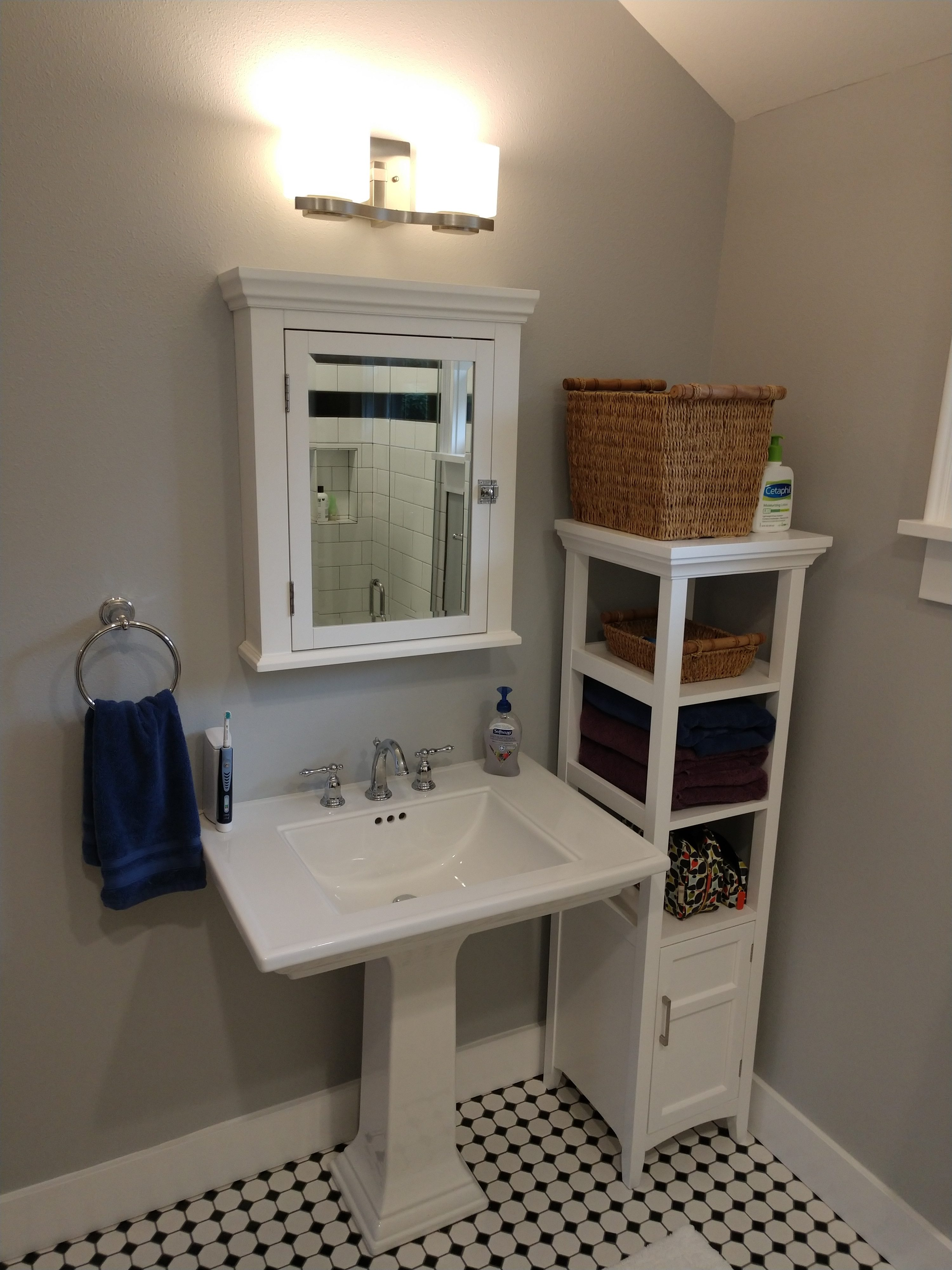 what to do with that tiny powder room