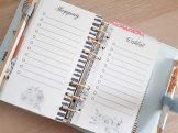 Listes agenda à imprimer