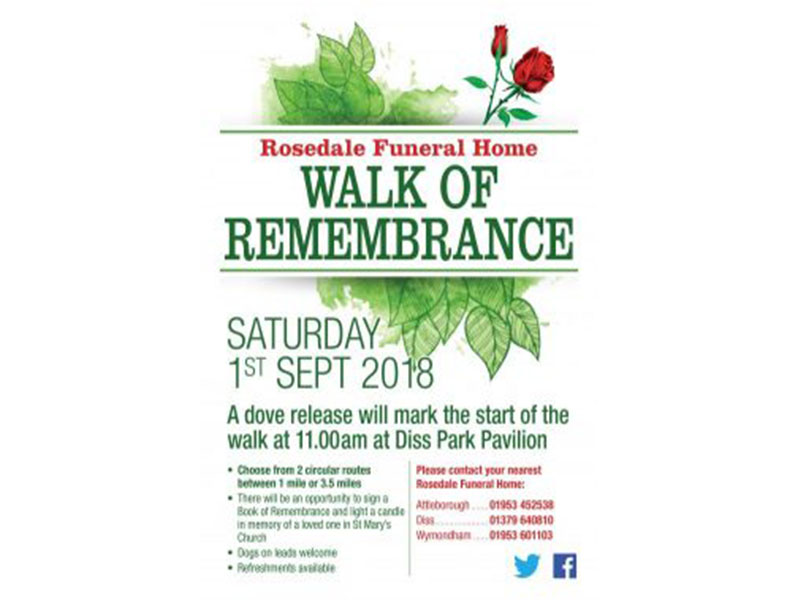 Walk of remembrance