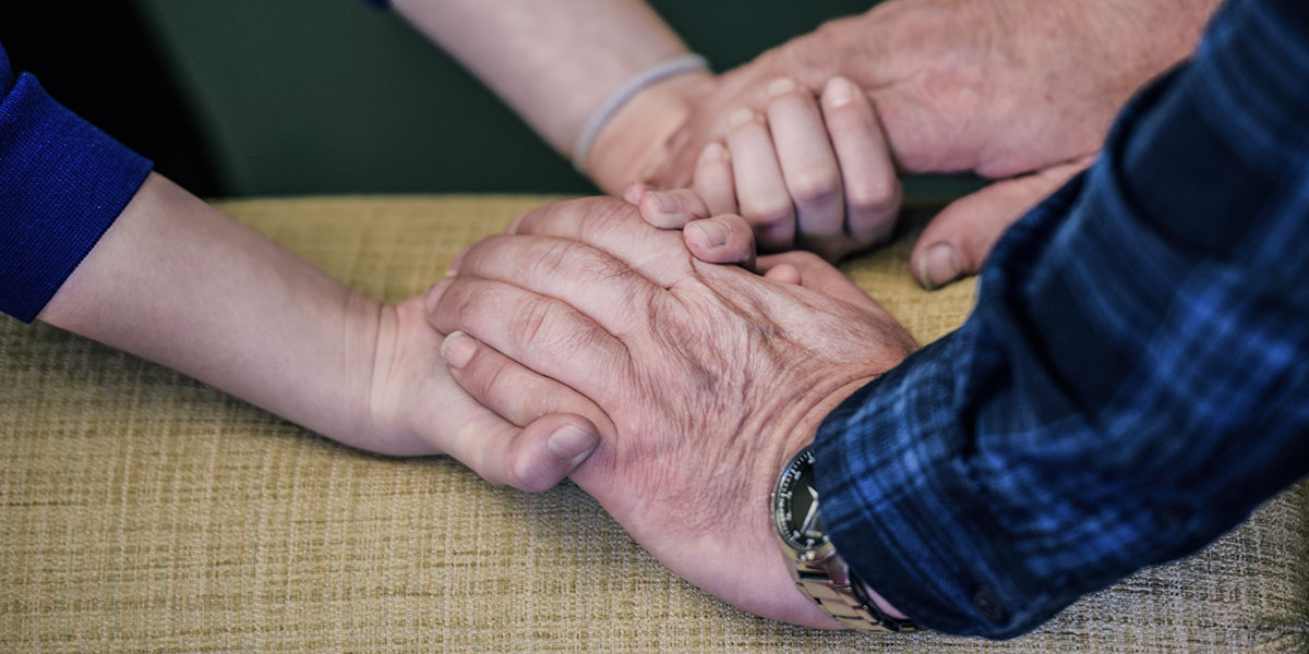 Helping someone who is bereaved