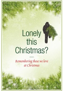 Lonely this Christmas cover