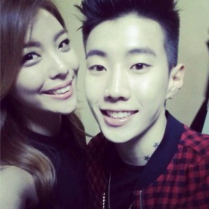Ailee and jay park
