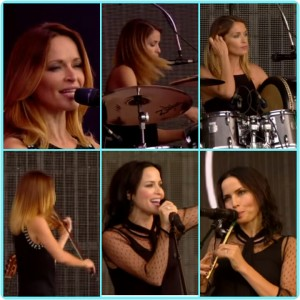 Make Up dan Hairstyle The Corrs