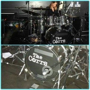 Drums Caroline, Logo The Corrs, Vektor The Corrs