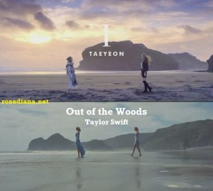 "Fanwar: ""Out of the Woods"" - Taylor Swift VS ""I"" - Kim Taeyeon"