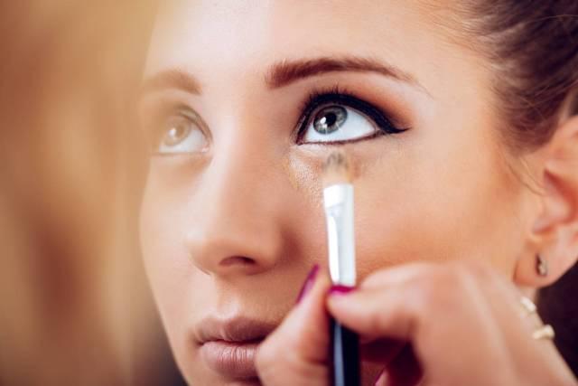 maquillage anti-cernes