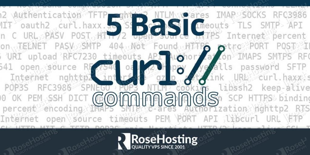 Curl Command Examples Rosehosting