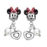Gemsone Pearl Earrings