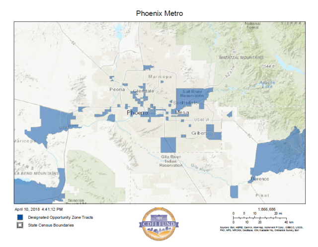 Arizona Opportunity Zones approved, poised for investment - Rose Law ...
