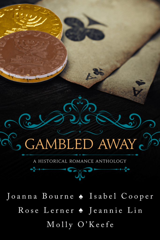 gambled away cover with hanukkah gelt instead of silver dollars