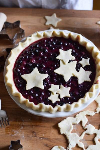 Berry Classic Blueberry Pie