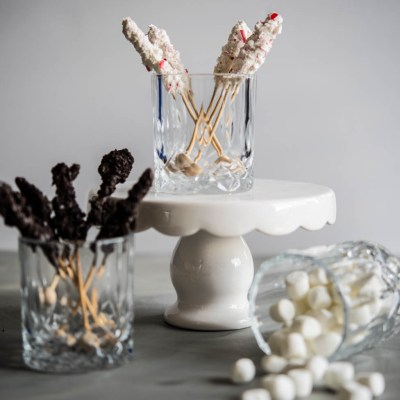 Candy Cane & Cookies and Cream Swizzle Sticks