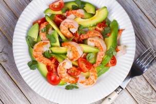 Prawn and Avocado Salad Recipe