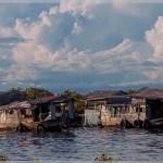 floating village on Tonle Sap Lake Cambodia
