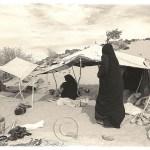 Touareg women camp in the Sahara