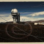 abandoned Russian observatory on Asy Plateau, Kazakhstan