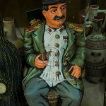 pottery figure of Stalin
