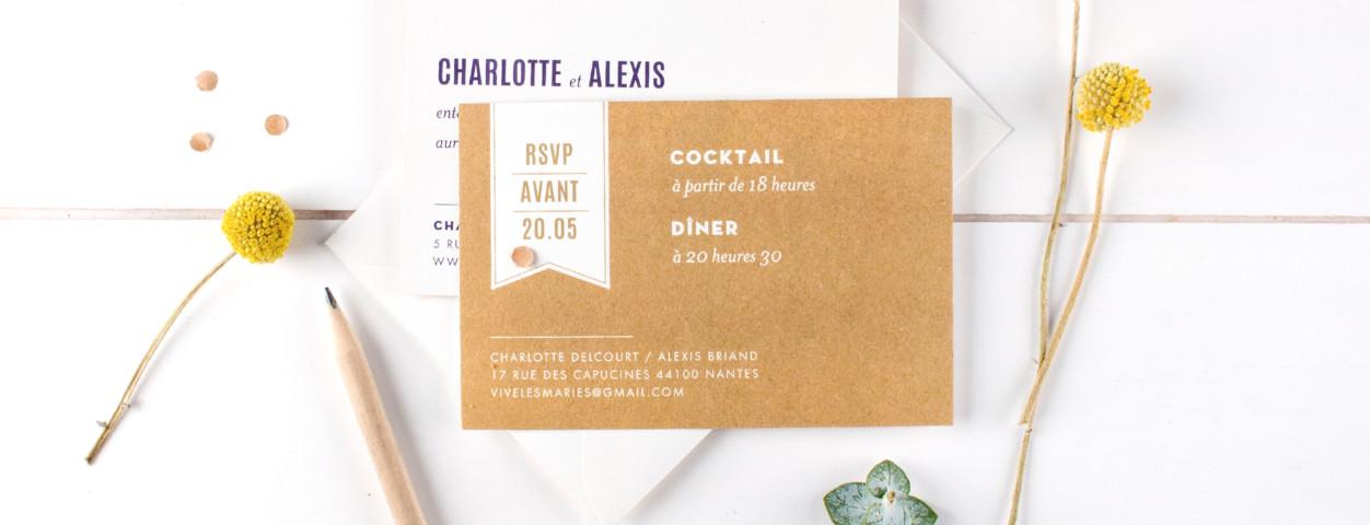 carton d invitation mariage