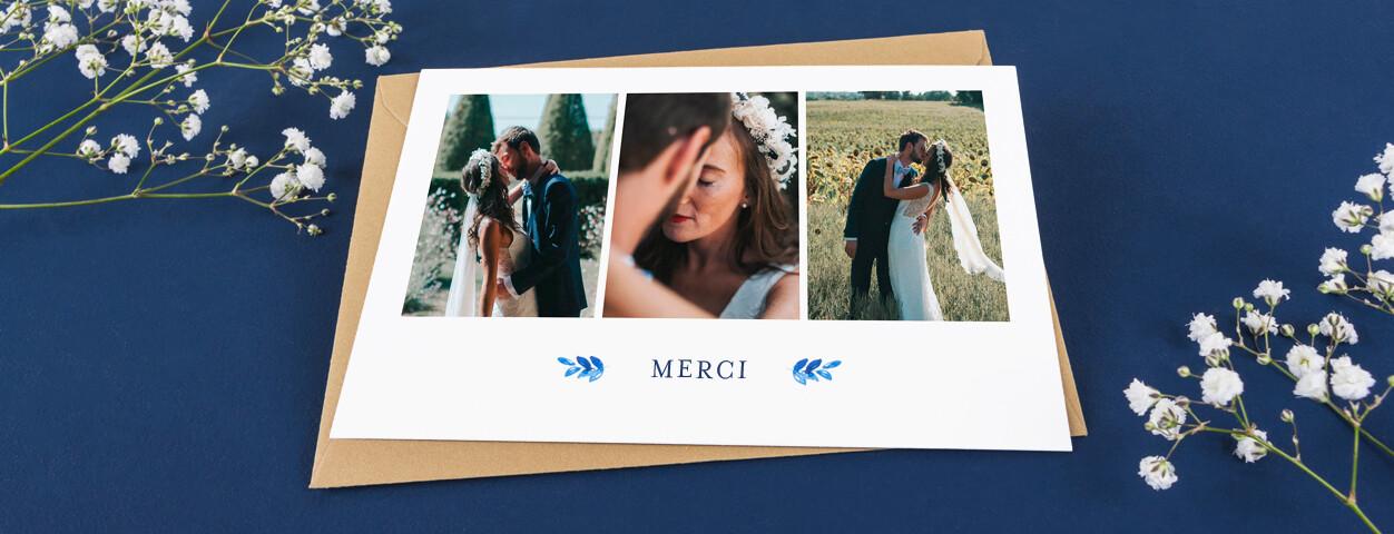 textes de cartes de remerciement mariage
