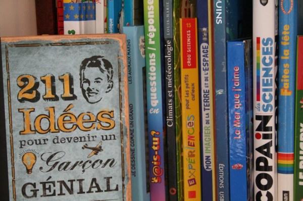 Bibliothèque de livres pour enfants