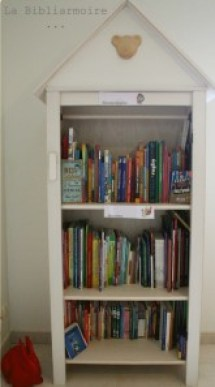 Bibliarmoire : bibliothèque enfant