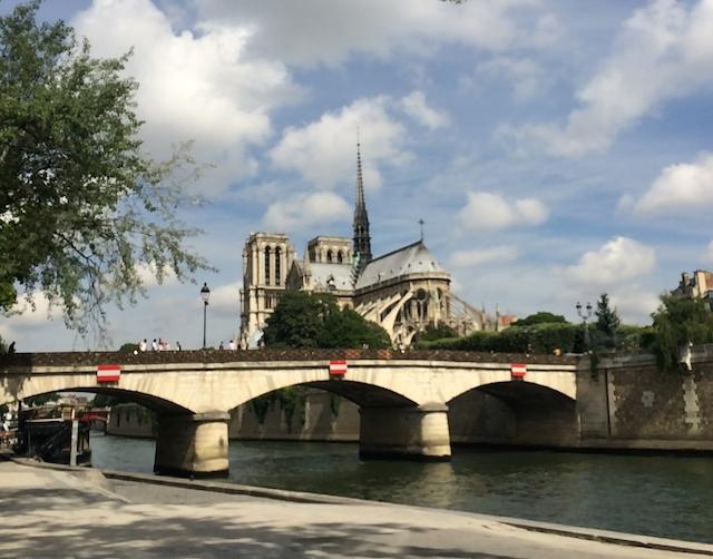 Sortie : abords et bords de Seine.