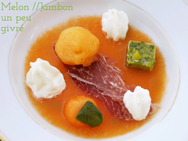 Melon au jambon givré #battlefood 23