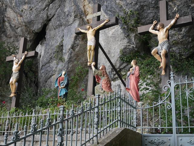 Sainte Baume la grotte