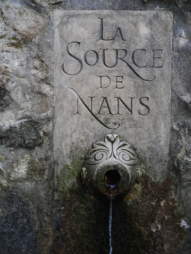 Sainte Baume source de Nans