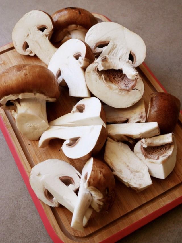 Recette crêpes aux champignons maison