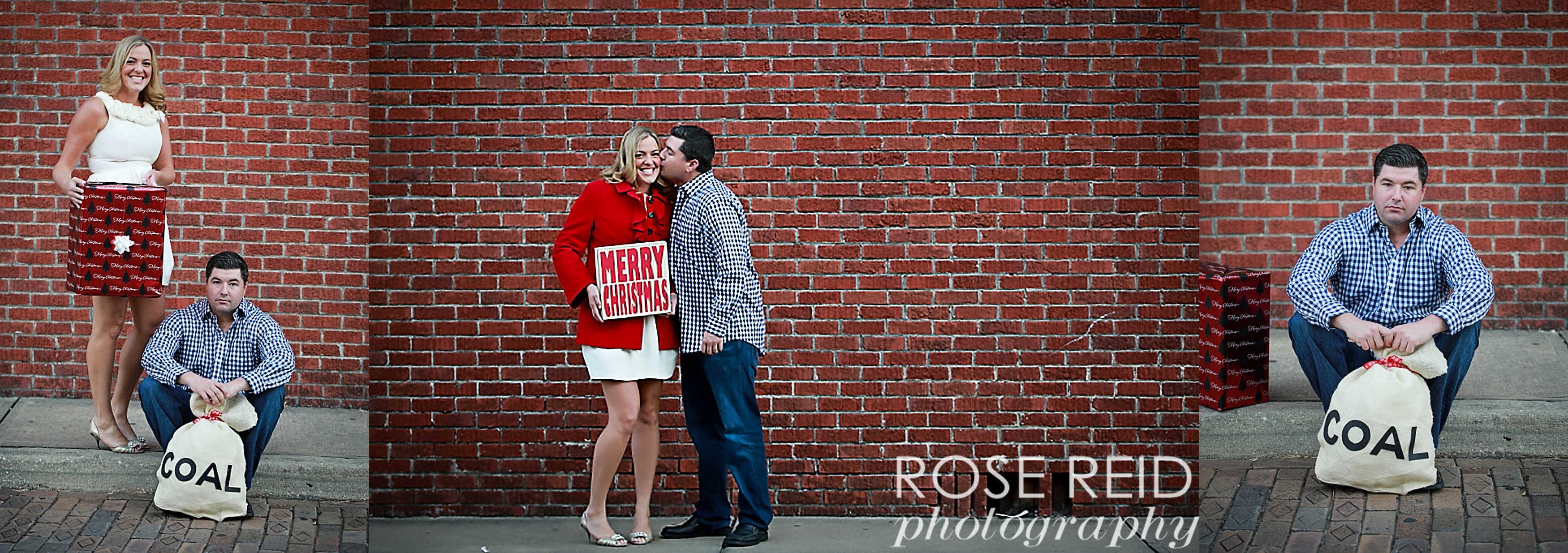 couples christmas and holiday photo orlando and winter garden