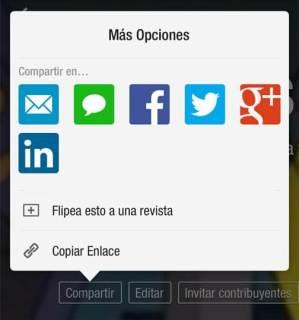 Redes sociales para compartir contenidos
