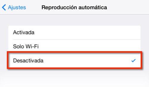 Captura para ilustrar cómo configurar la app de Facebook en iOS, último paso