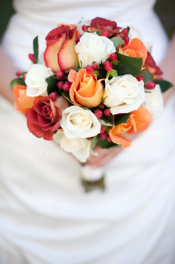 Top 20 Fall Wedding Bouquets For Autumn Brides Roses Amp Rings