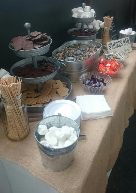 20 Best Of Smore Bar Wedding Food Station Ideas Roses