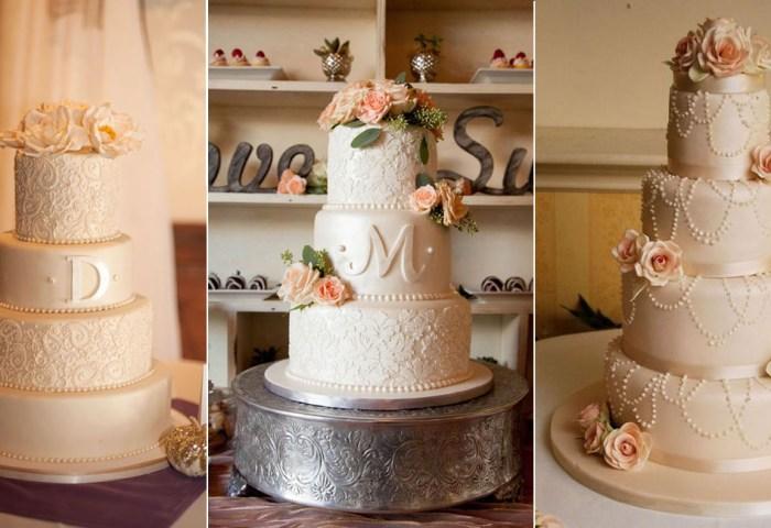 20 Elegant Vintage Buttercream Wedding Cakes Roses Rings