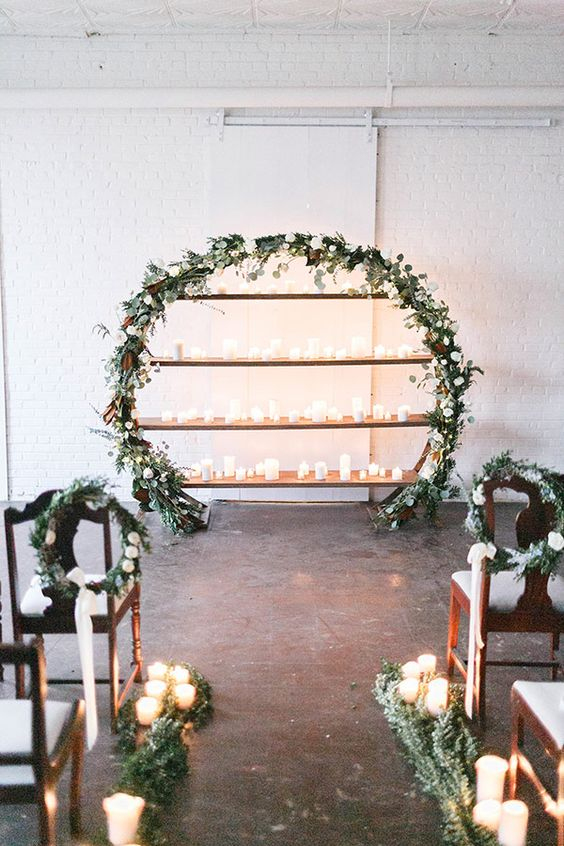 Top 20 Wreath Amp Circle Wedding Arches Amp Backdrops Roses Amp Rings