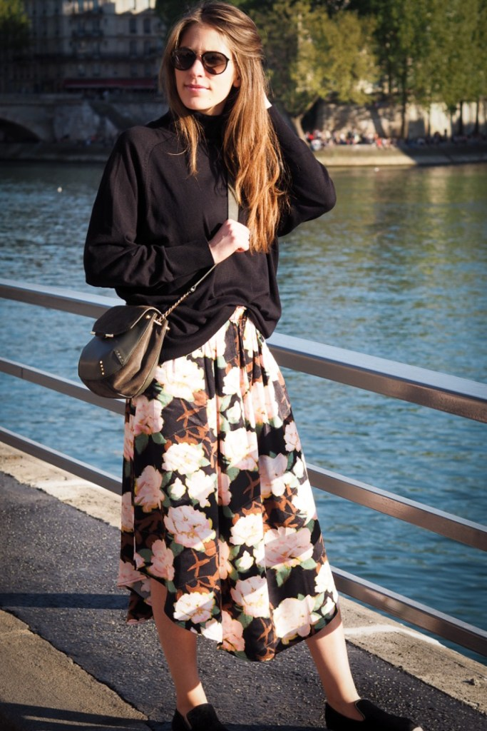 Maxi_flower_skirt_h&M_rosesinparis