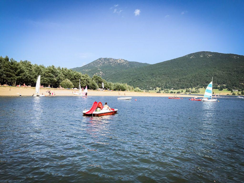 sport_activities_Matemale_lake_France