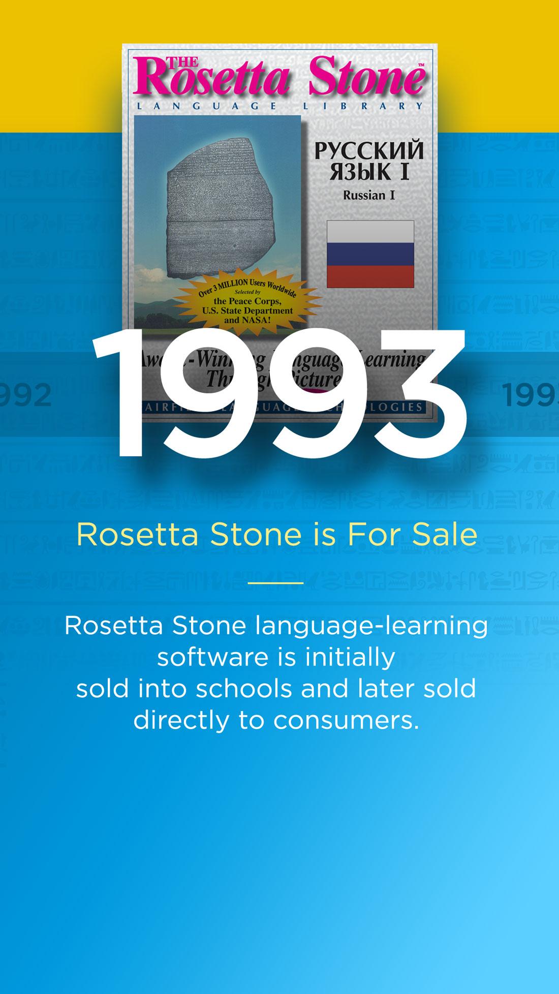 About Rosetta Stone