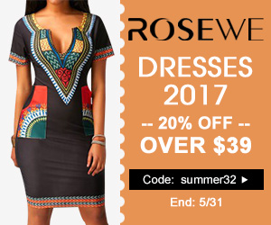 20% Off for Dresses 2017