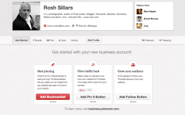 Rosh Sillars Pinterest Business Page