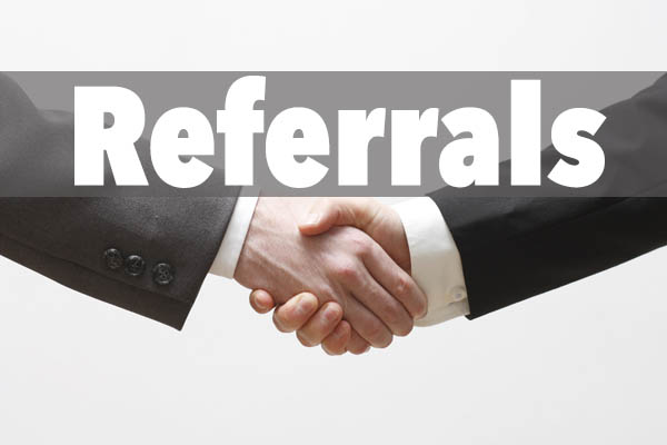 Referrals for photographers