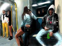 metro scene