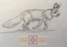 Rosie Crafts Fennec Fox Drawing