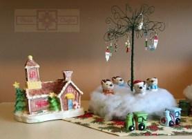 Rosie Crafts Christmas Village